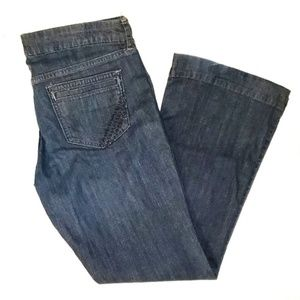 "Old Navy ""the diva"" Lowest Rise Dark Denim Jeans"